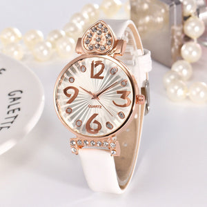 Hot Sale Fashion Luxury Women Watches Female Bracelet Watch Rhinestone Digital Dial Watch Ladies watches luxury Relogio Clock #B - efair.co