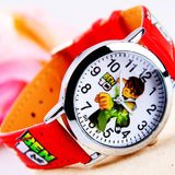 Hot Sale New Fashion Cute Cartoon Children Watches For Boys Kids Quartz Cool Sport Strap Leather Wristwatch Gifts Clock Relojes - efair.co