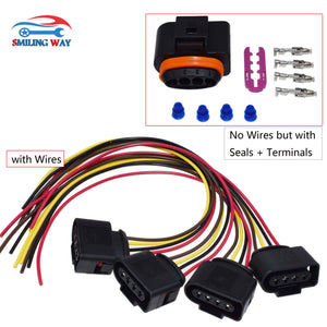 Ignition Coil Connector Harness Plug Wiring Cable For Audi VW A3 A4 A5 A6 A8 Beetle Golf Jetta Passat Rabbit Tiguan Touareg R32 - efair Best spare parts online shopping website