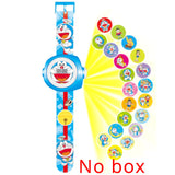 JOYROX Princess Spiderman Kids Watches Projection Cartoon Pattern Digital Child watch For Boys Girls LED Display Clock Relogio - efair.co