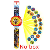 JOYROX Princess Spiderman Kids Watches Projection Cartoon Pattern Digital Child watch For Boys Girls LED Display Clock Relogio - efair Best spare parts online shopping website
