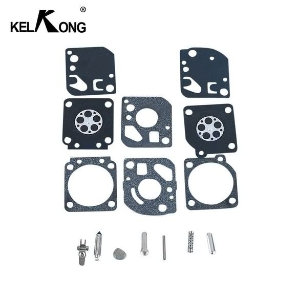 KELKONG 1 Set Carburetor Repair Rebuild Kit For Zama RB-29 Carb Diaphragm Blower Trimmer For Ryobi Homelite Garden Tool Parts - efair Best spare parts online shopping website