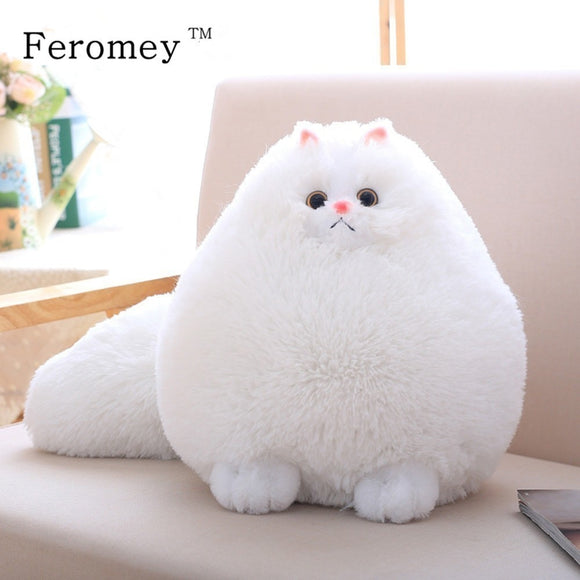 Kawaii Fluffy Cat Plush Toys Persian Cat Stuffed Dolls Soft Pillow Stuffed Animal Peluches Dolls Baby Kids Toys Christmas Gifts - efair Best spare parts online shopping website