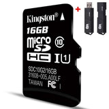 Kingston Micro Sd Memory Card 16GB Class10 carte sd 32gb SDHC sdxc TF sd Card cartao de Memoria 16g c10 For Smart Mobile phone - efair Best spare parts online shopping website