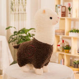 Lovely 28cm Cartoon Alpaca Plush Doll Toy Fabric Sheep Soft Stuffed Animal Plush Llama Yamma Birthday Gift for Baby Kid Children - efair Best spare parts online shopping website