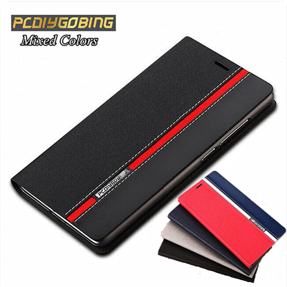 Luxury Mixed Colors Wallet Style Flip Cover PU Leather Case for Huawei P7 P9 P10 Lite P8 Lite 2017 Honor 8 4C Pro Y6 II Y5 II - efair Best spare parts online shopping website