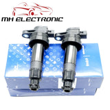 MH ELECTRONIC 2pcs Ignition Coil 27301-2B000 For Hyundai Accent I20 I30 Elantra Kia Rio Ceed Soul 1.6L Cerato 5.0 27301 2B000 - efair Best spare parts online shopping website