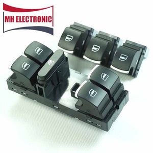 MH Electronic Electric Power Button Window Switch 5ND 959 857 5ND 959 855 For VW Golf MK5 6 Jetta MK5 Passat B6 Tiguan 4pcs/lot - efair Best spare parts online shopping website
