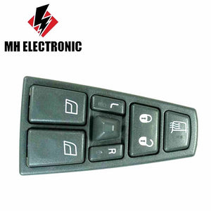 MH Electronic Electric Power Master Window Control Switch RIGHT/LEFT 20752918 For VOLVO TRUCK FM FH12 21543897 20568857 20455317 - efair Best spare parts online shopping website