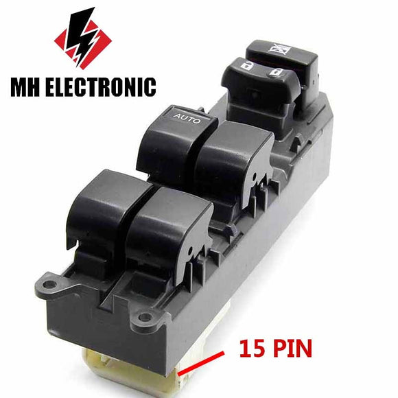 MH Electronic Power Window Electric Control Master Switch Front Left For TOYOTA RAV4 Corolla Urban Cruiser 2005 -up 84820-12520 - efair Best spare parts online shopping website
