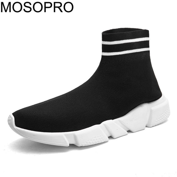 MOSOPRO Men Sneakers Woman Shoes Sock Boots Spring Running Sneakers Summer Fashion Man Boots Lightweight Autumn Sneakers B009U - efair.co