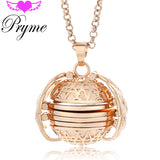 Magic Photo Pendant Memory Floating Locket Necklace Plated Angel Wings Flash Box Fashion Album Box Necklaces for Women - efair Best spare parts online shopping website