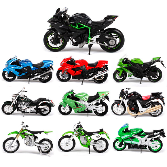 Maisto 1:18 Kawasaki Ninja Motorcycle metal model Toys For Children Birthday Gift Toys Collection - efair Best spare parts online shopping website