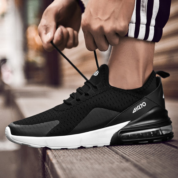 Men Casual Shoes Spring Autumn Breathable Sneakers Men Air Cushion Mesh Sports Shoes Trend Trainers Men Shoes Big Size - efair Best spare parts online shopping website