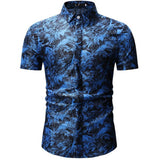 Mens Summer Beach Hawaiian Shirt 2019 Brand Short Sleeve Plus Size Floral Shirts Men Casual  Clothing Camisas 26 color - efair Best spare parts online shopping website