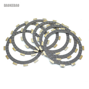Motorcycle Clutch Friction Disc Plates Set for Suzuki DR400/S GN400E/T/X PE400 RM400 SP400 DR GN RM SP 400 S T X 6 Pcs Kit - efair Best spare parts online shopping website