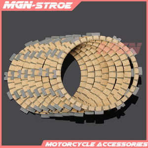 Motorcycle Clutch Friction Plates Disc Set 8pcs For KAWASAKI ZX-6R ZX6R ZX636 ZX 6R 636 2005-2017 06 07 08 09 10 11 12 13 14 15 - efair Best spare parts online shopping website