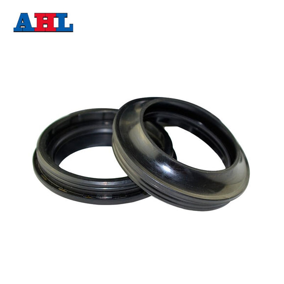 Motorcycle Parts Front Fork Damper Dust Seal Size 37*49 37 49 For Kawasaki GPZ1100 ZL600 ZX750 ZZR250 Motorbike Shock Absorber