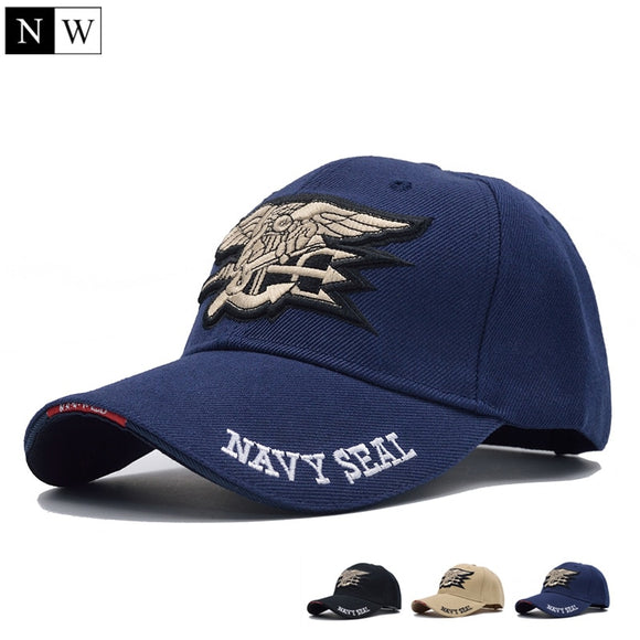 [NORTHWOOD] High Quality Mens US NAVY Baseball Cap Navy Seals Cap Tactical Army Cap Trucker Gorras Snapback Hat For Adult - efair Best spare parts online shopping website