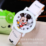 New 2016 fashion cool mickey cartoon watch for children girls Leather digital watches for kids boys Christmas gift wristwatch - efair Best spare parts online shopping website