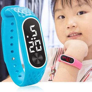 New Children's Watches Kids LED Digital Sport Watch for Boys Girls Men Women Electronic Silicone Bracelet Wrist Watch Reloj Nino - efair Best spare parts online shopping website
