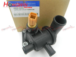 OEM NO:25650 02560 Thermostat Housing Fits KIA Picanto SA 04-10 New Morning 2565002560,25650-02501,2565002501 - efair Best spare parts online shopping website