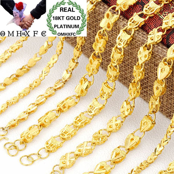 OMHXFC Wholesale European Fashion Woman Female Party Birthday Wedding Gift Heart Rabbit 18KT Gold Bracelets BE196 MartLion