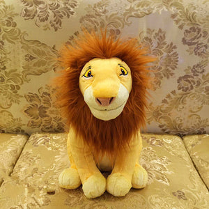 Original Cartoon The Lion King Mufasa Cute Stuff Plush Toy Doll Birthday Gift For Kids - efair Best spare parts online shopping website