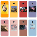 Phone Case For Meizu M2 M3 M3S M5 M5C M5S M6 M6S M6T Yellow Flower Girl Silicone Soft Back Cover For Meizu M2 M3 M5 M6 Note Case - efair Best spare parts online shopping website