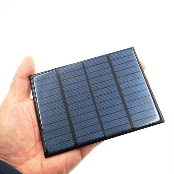 Polycrystalline DIY Battery Silicon 12V 1.5W Solar Panel Standard Epoxy Power Charge Module 115x85mm Mini Solar Cell - efair.co