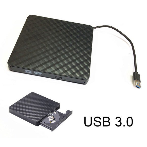 Portable USB3.0 External CD/DVD/VCD Optical Drive CD-RW Writer Recorder Driver for PC Laptop Computer SGA998 - efair Best spare parts online shopping website