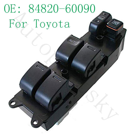 Power Window Lifter Master Control Switch For Toyota Echo Yaris T.U.V 4Runner Hilux Land Cruiser Camry 84820-60090 8482060090