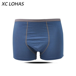 Promotion U Convex Breathable Underpants Panties Bamboo Fiber Absorbent Men Boxer Cueca Shorts High-grade Male Underwear - efair.co
