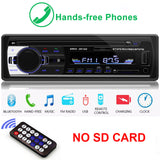 Radio Car Autoradio 1 Din Bluetooth SD MP3 Player Coche Radios Estereo Poste Para Auto Audio Stereo Carro Samochodowe Automotivo - efair.co