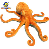 Real Life Big Octopus Doll Octopus Plush Toy Pillow Sea Bottom Animal Doll Creative Realistic Gift 55cm - efair Best spare parts online shopping website
