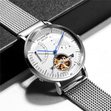 Reloj Hombre 2019 GUANQIN Automatic Mechanical Watch Men Luxury Flywheel Stainless Steel Waterproof Watches Mekanik Kol Saati - efair Best spare parts online shopping website