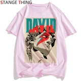 Rip David Bowie T Shirt Men/women England Rock Music Pop Star T-shirt Funny Printed Tshirt Unisex Hip Hop Top Tees Male/female - efair Best spare parts online shopping website