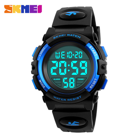 SKMEI Brand Children Watches LED Digital Multifunctional Waterproof Wristwatches Outdoor Sports Watches for Kids Boy Girls - efair Best spare parts online shopping website