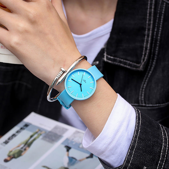 Simple Silicone Wrist Watch Women Watch Ladies Quartz Wristwatch For Woman Clock Female Hour Hodinky Montre Casual Style - efair.co