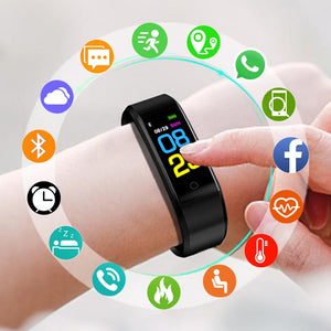 Sport Smart Watch Children Kids Watches For Girls Boys Students Wrist Clock Electronic LED Digital Child Wristwatches With Gifts - efair.co