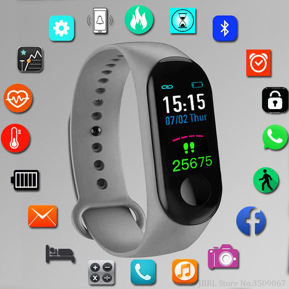 Sport Smart Watch Children Watches Kids For Girls Boys Child Wrist Watch Digital Electronic LED Wristwatch Students Clock Gifts - efair.co