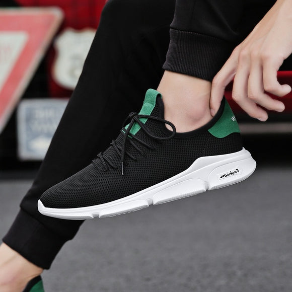 Summer Man Sneaker Male Fashion Casual Air Mesh Sports Track Shoes for Men Trainers Non-slip Outdoor Light Breathable Loafers - efair Best spare parts online shopping website