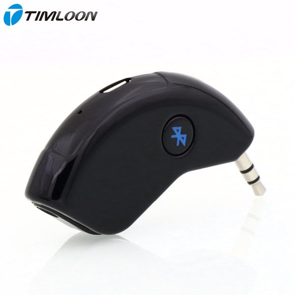 Super Mini Bluetooth Car Kit Bluetooth Receiver Hands-free AUX Output Adapter For Music and Mobile Phone - efair.co