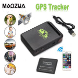 TK102B Real-time Vehicle GSM GPRS Mini Car GPS Locator Tracker TK102 Car Tracker Anti-Lost Recording Tracking Device - efair.co