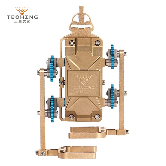 Teching All-Metal Assembly Robot Walker Support APP Control DIY Building Model Kits for Research /Collection /Gift /Toy - efair Best spare parts online shopping website