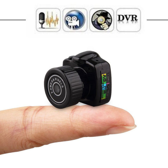Tiny Mini Camera HD Video Audio Recorder Webcam Y2000 Camcorder Small DV DVR Security Secret Nanny Car Sport Micro Cam with Mic - efair.co