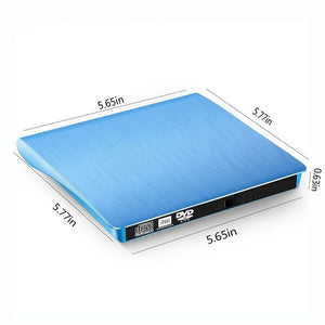 USB 3.0 DVD-ROM CD-RW DVD-RW Burner Player External Drive Portable Reader Slim Thin for Windows7/8/10 Laptop - efair.co