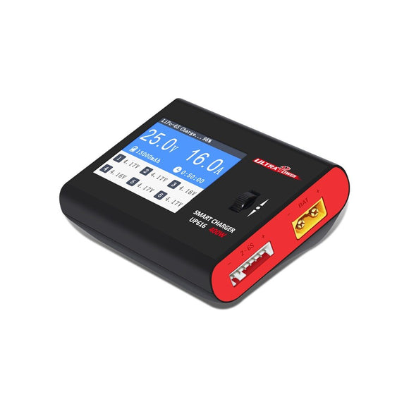 Ultra Power UP616 16A 400W Smart Battery Balance Charger for RC Model Airplane / Multicopter Free Shipping