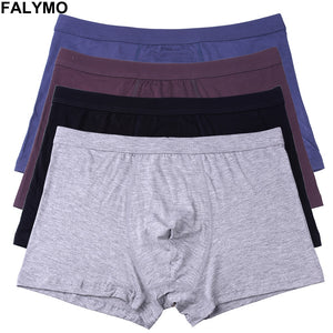 Underwear Man Seamless Bamboo Fiber Mens Boxer Shorts Male Panties Solid Sexy Men's Underpants Stretch Homme Trunks Panty Short - efair Best spare parts online shopping website