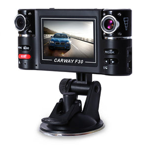 Universal 2.7 inch 720P Car DVR Camera Video Driving Recorder HD Dual Lens Dashboard Vehicle Cam corder With G-sensor - efair Best spare parts online shopping website
